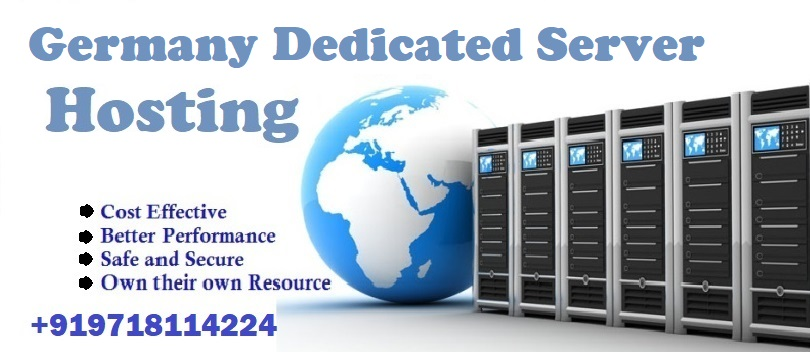 Germany Dedicated Server Hosting